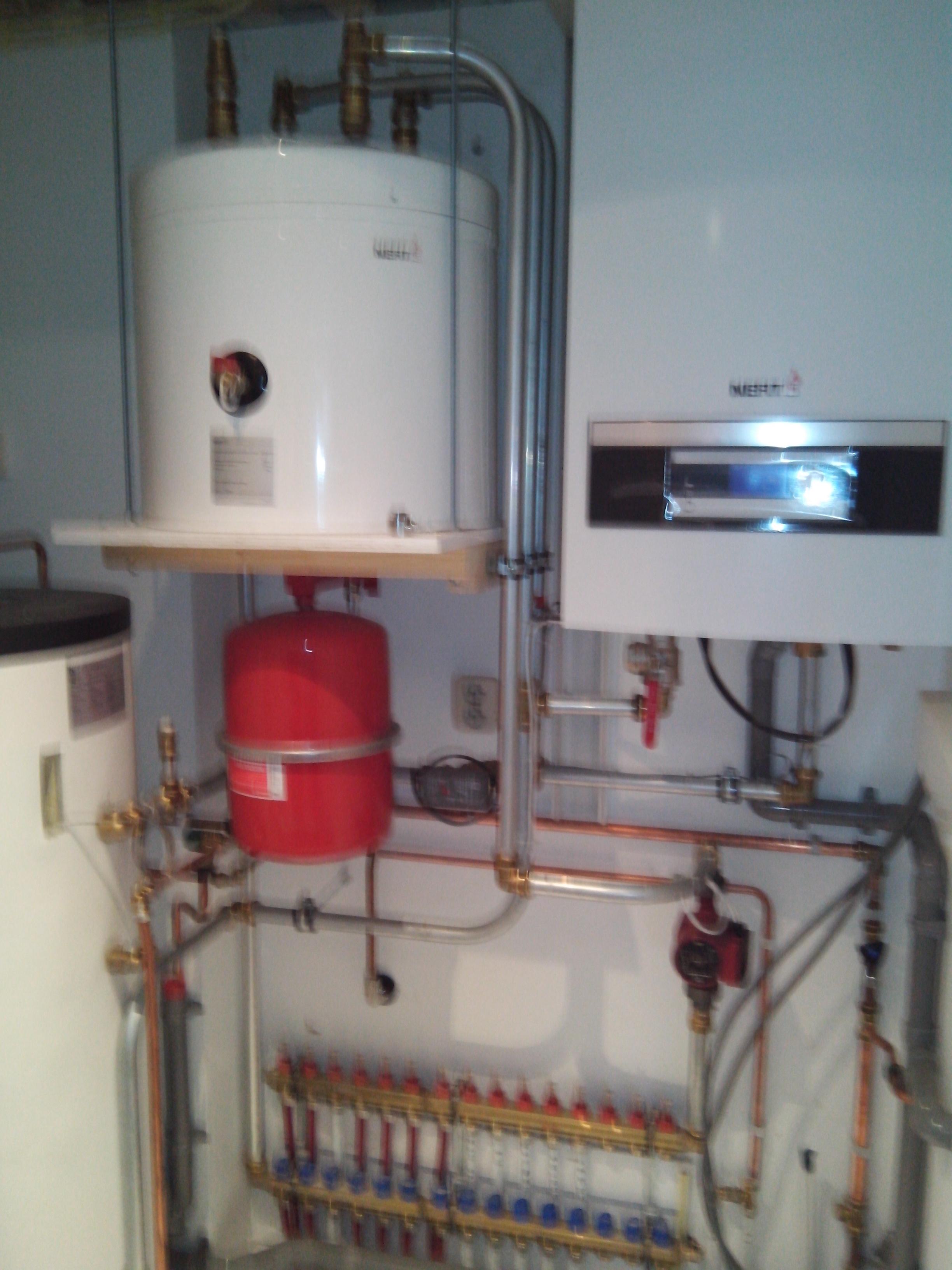 Warmtepompinstallatie